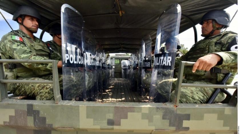 Durante la firma de un convenio con el FOVISSSTE, Durazo afirmó que las prestaciones de los policías militares y navales están al nivel de los mejores estándares internacionales.(Agencia Reforma)