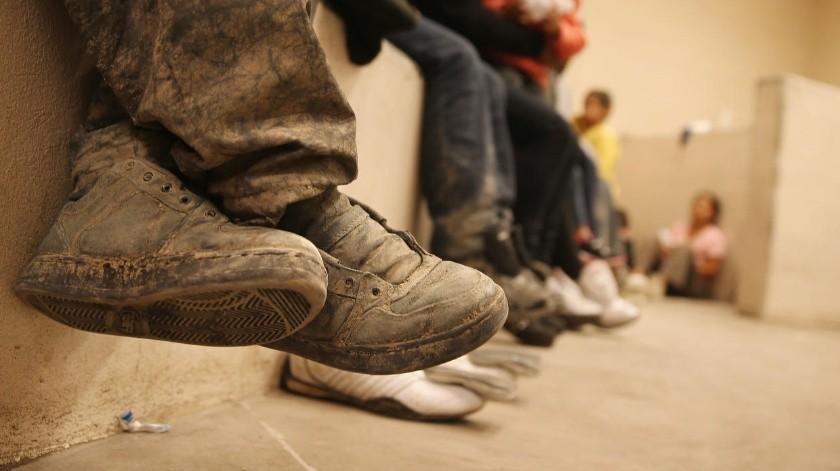 Un informe de la organización indica que un número cada vez mayor de niños se aventura a las travesías peligrosas.(Banco digital.)