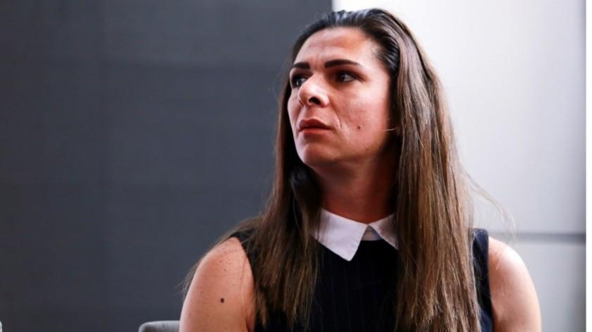 Ana Guevara con ''granadas'' para ''la guerra''(FG)