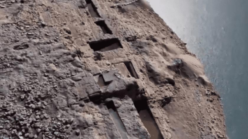 Un palacio de 3 mil 400 años de antigüedad fue descubierto en la región de Kurdistán en Irak después de que los niveles de agua bajaron debido a la sequía.