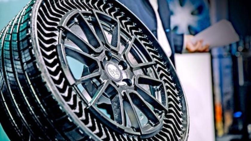 Los neumáticos saldrán a la venta en el año 2024.(Michelin)