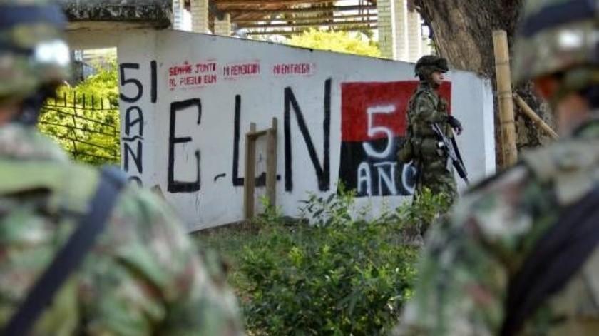 "Abaten ""Guacharaco"", cabecilla del ELN de Colombia(Twitter @elpaiscali)"