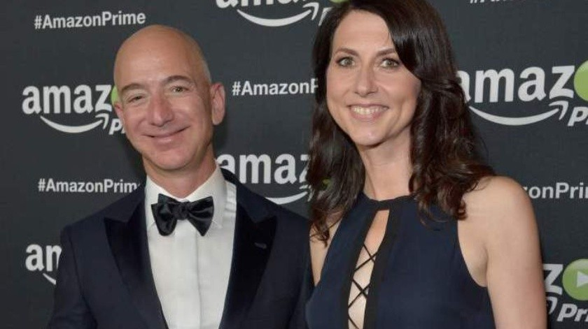Fundador de Amazon pagará multimillonario acuerdo a ex(GH)