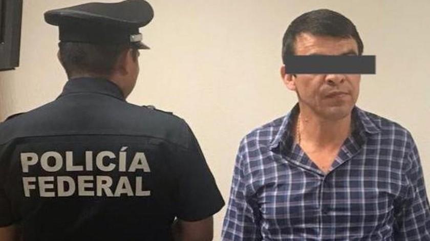 El detenido, quien presuntamente llevaba más de 20 años colaborando para el cártel de Sinaloa, estaba a punto de viajar a la ciudad de Culiacán.(Especial)