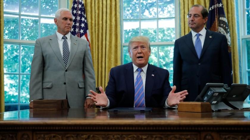 Firma Trump paquete de ayuda humanitaria para migrantes(AP)
