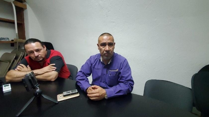 El regidor Atanasio Cervantes Barraza dio a conocer la nueva propuesta realizada a la empresa Pinsa.(Rubén Ruiz)