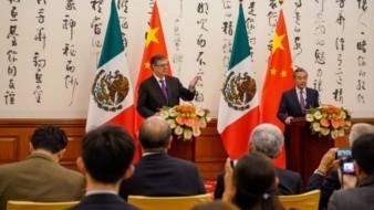El secretario de Relaciones Exteriores de México, MarceloEbrard, apostó por