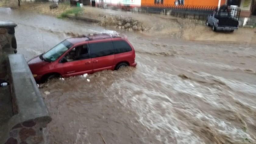El pasado lunes cayó la primera lluvia de la temporada en Álamos.(Jesús Palomares)
