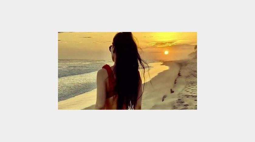 Una vez más, Maribel Guardia sorprendió con una fotografía en la que luce su figura en bikini.(Instagram)