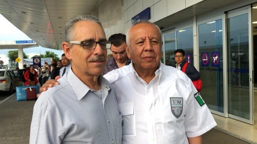 Rinde protesta el nuevo delegado del INM(Twitter @Milenio)