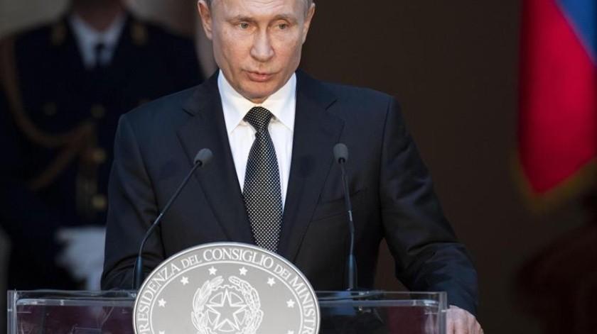 El mismo Putin ha comentado sobre Guaidó de ser 'una persona simpática'.(EFE)