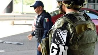 La Guardia Nacional comenzó su despliegue por el País.