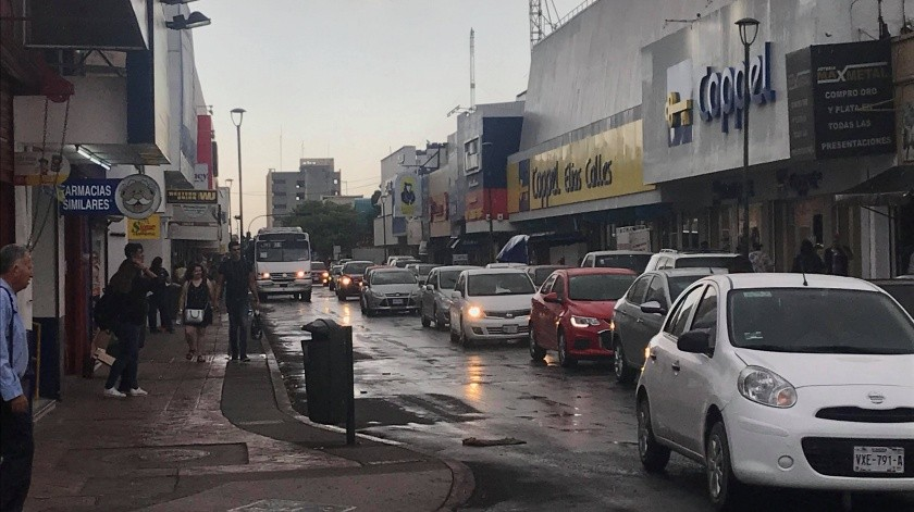 Cae primera lluvia de la temporada en Hermosillo(Anahí Velásquez)