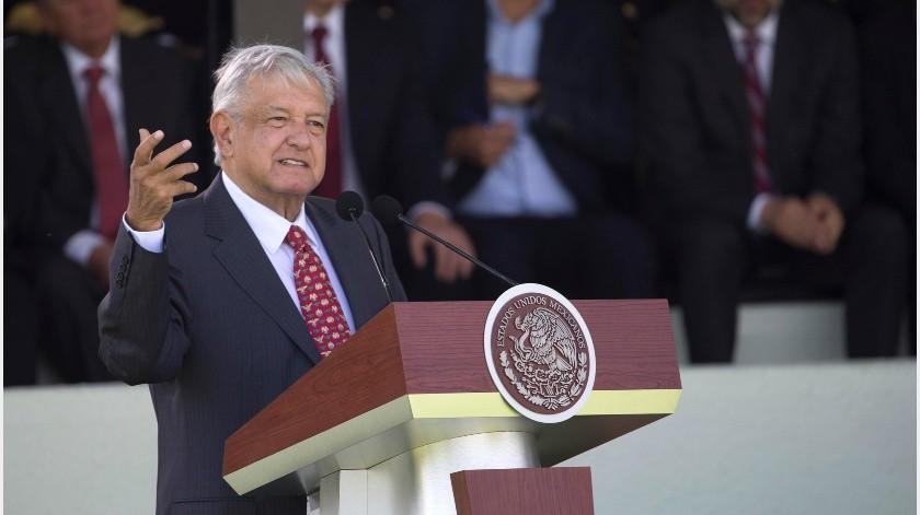 El Presidente explicó las acciones que se llevan a cabo para la generación de empleo y bienestar.(GH)