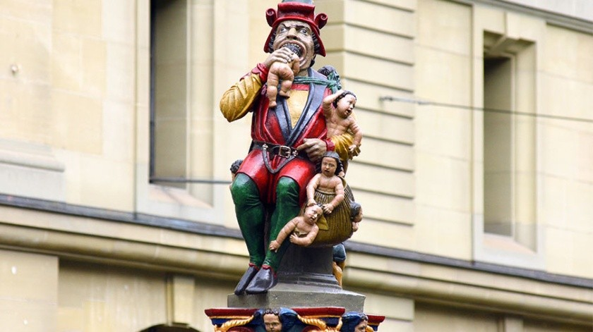 La primera teoría sugiere que el ogro come niños podría personificar al mayor de los hermanos del fundador de Berna,el Duque Berchtold V de la casa Zähringen. Quien se dice que llegó a sentir tanta envidia por su hermano que terminó volviéndose loco y devorando a los niños de la ciudad.(Cortesía)
