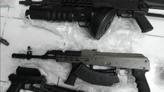 Aseguran armas largas, cargadores y miles de cartuchos en Nogales