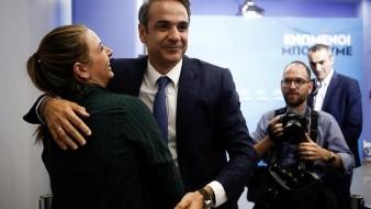 El conservador Kyriakos Mitsotakis, aseguró hoy que a partir de este domingo