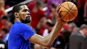 Kevin Durant le dice adiós al 35, usará el 7 con los Nets