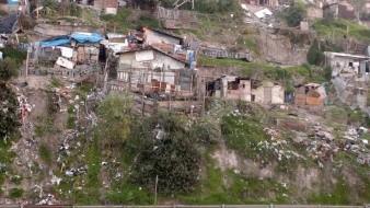 En cañadas y laderas hubo autoconstrucción no regulada o vigilada por un ingeniero,