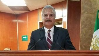 El diputado Víctor Manuel Morán Hernández.