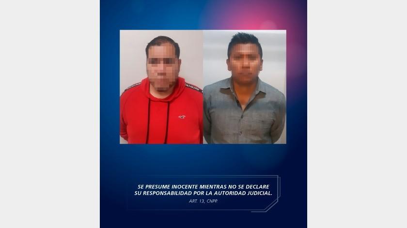 Dos detenidos en fraccionamiento Sonora(Cortesía)