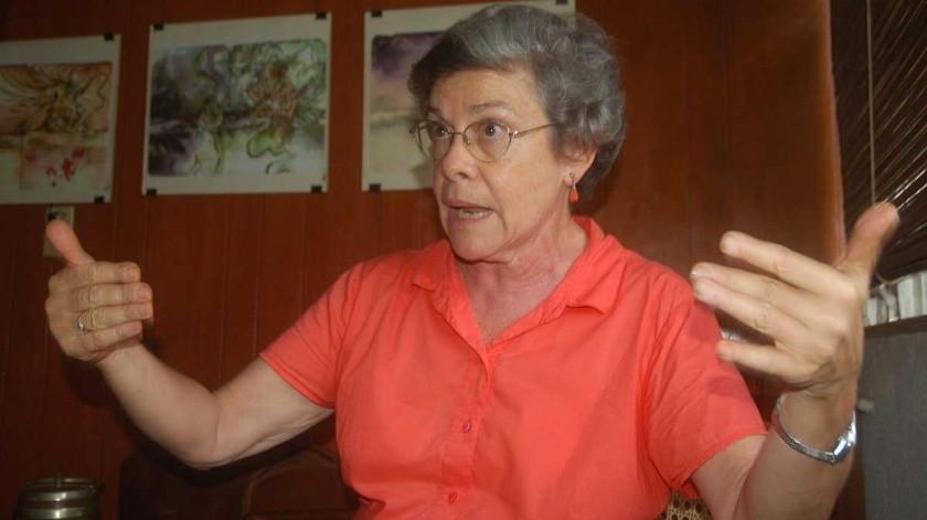 María López Vigil, precursora de la literatura infantil en su país y cuya obra literaria ha contribuido a que los jóvenes de Nicaragua conozcan mejor sus raíces(Tomada de la red)