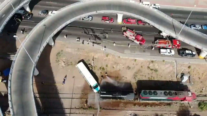 Realizan mega simulacro en Nogales(Rubén A. Ruiz)