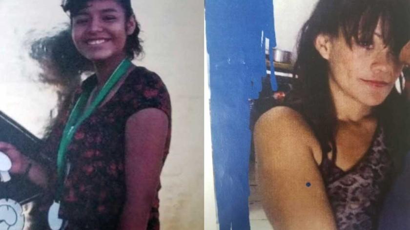 Miriam Yamilen Zamora Carrillo de 16 años y Leticia Isabel Castañeda Zúñiga de 28 años, son las desaparecidas.(Cortesía)
