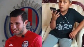Recibe niño viral de protocolo llamada de la Liga MX