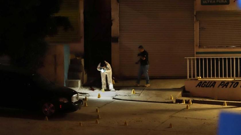 Momentos antes del homicidio en el negocio, otra persona fue ejecutada en la ciudad.