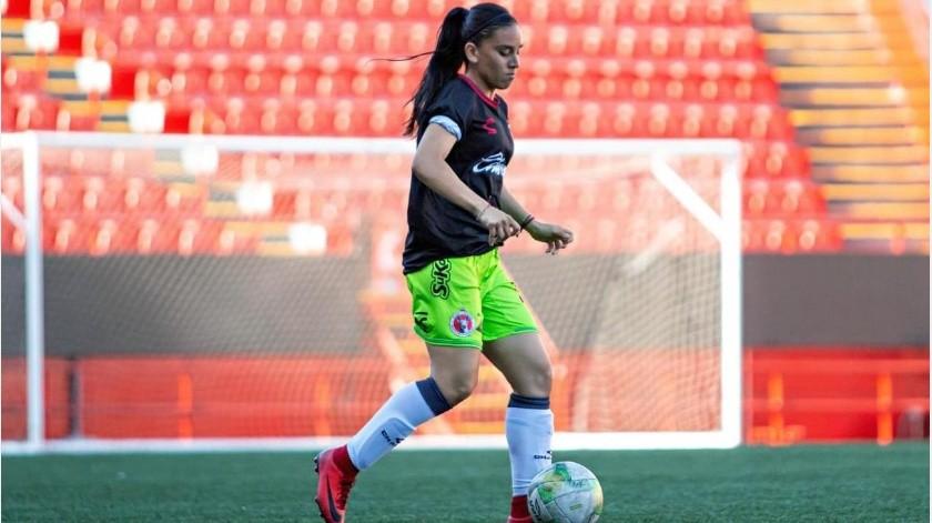 Cristina Fonseca, de Ciudad Obregón, jugará a partir del Torneo Apertura 2019 con Xolos Femenil.(Cortesía)