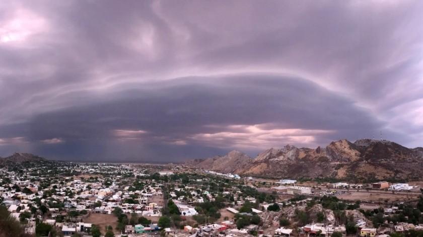 EN VIVO: Llega tormenta a Hermosillo(Julián Ortega)