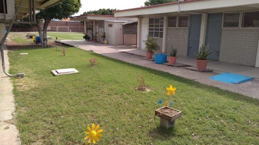 Un avance del 80% lleva la reconstrucción de los diez planteles educativos dañados por los sismos en el Sur del Estado.(Archivo)