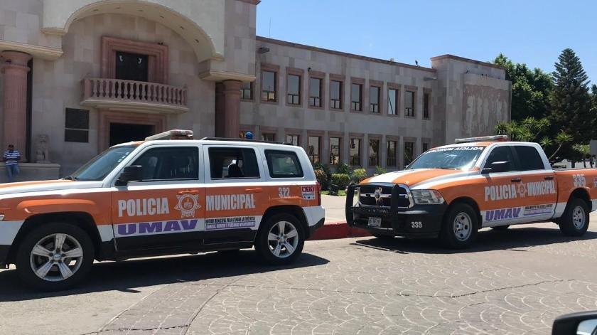 Estas unidades están listas para arrancar labores contra la violencia de género en Cajeme.(Susana A. Arana)