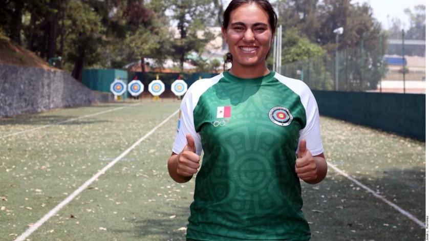 Alejandra Valencia estará en sus terceros Juegos Panamericanos.(Agencia Reforma)