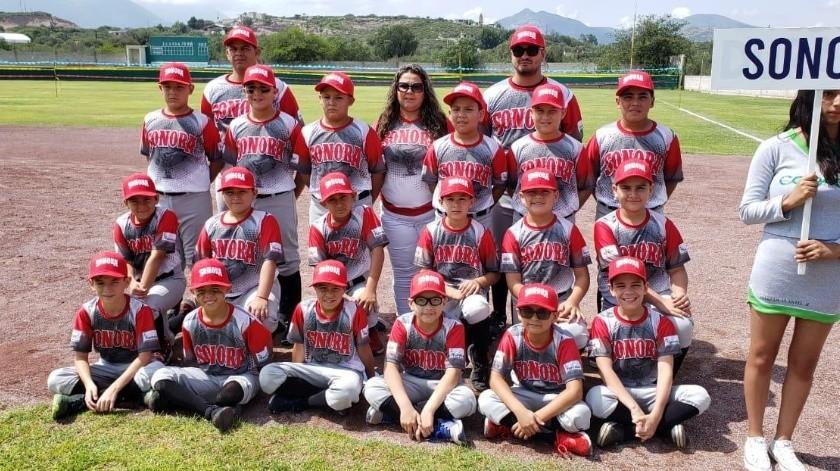 La Selección Sonora categoría 9-10 años participa en el Campeonato Nacional de Beisbol. - 4 : a
