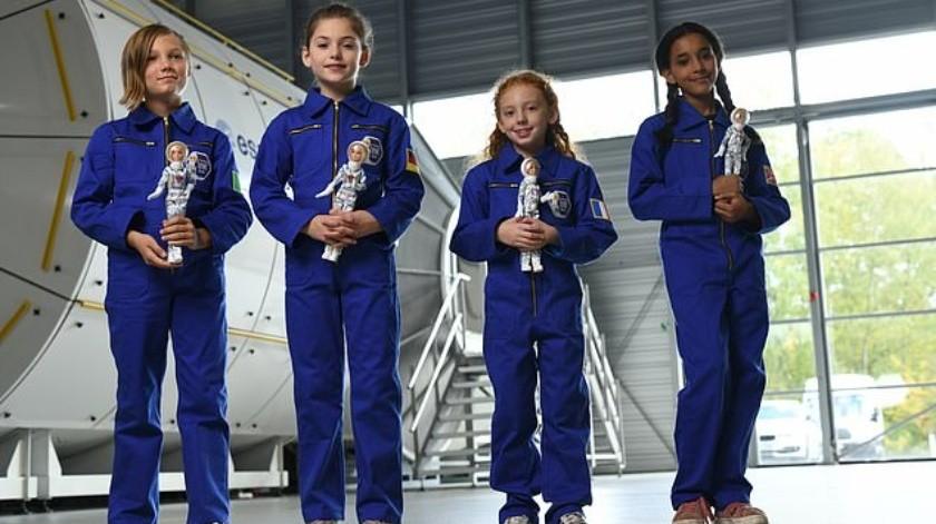 Barbie lanza muñeca de la astronauta Samantha Cristoforetti(Cortesía)