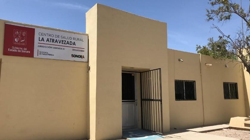 El Centro de Salud del poblado Morelos La Atravezada cuenta con cuatro empleados, uno de ellos es un m�dico y cubre las necesidades de salud de al menos cuatro comunidades cercanas.(Yesicka Ojeda)