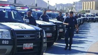 La fuerza de la Polic�a Municipal se redujo por asesinatos, incapacidades, permisos y renuncias. - 3 : color