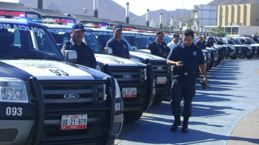 La fuerza de la Policía Municipal se redujo por asesinatos, incapacidades, permisos y renuncias.(Yesicka Ojeda)