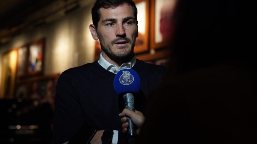 Iker Casillas se incorporará a la directiva de Porto.(Twitter)