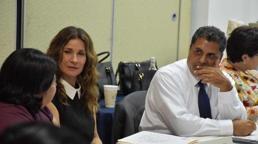 Reunión de la Barra Lic. María Sandoval de Zarco.