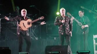 André Reyes y compañía entregaron su arte musical.