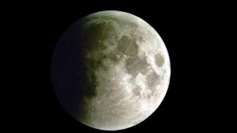 Mañana habrá un eclipse parcial lunar