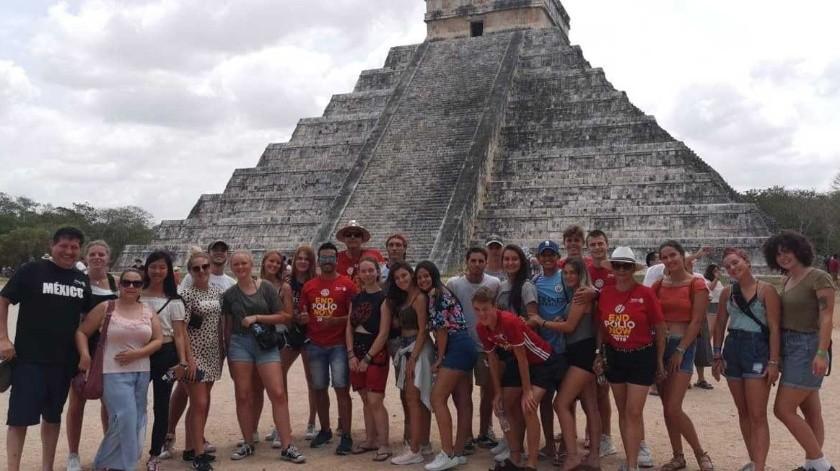 Estudiantes universitarios de 12 países de América Latina y Europa participan en la expedición.(Tomada de la red)