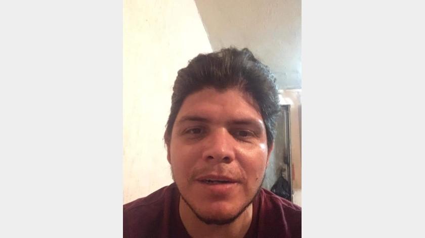 La Fiscalía Especializada para la Investigación y Persecución de Delitos de Desaparición Forzada y Desaparición cometida por Particulares y No Localizados, solicita el apoyo de la ciudadanía para localizar aJuan Manuel López Morales de 33 años.(Cortesia)
