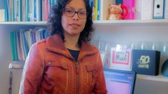 Mariana Villada Canela, investigadora adscrita al Instituto de Investigaciones Oceanológicas (IIO) de la Universidad Autónoma de Baja California (UABC), Campus Ensenada.