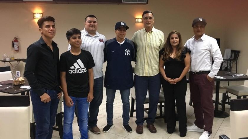 Jared es el primer pelotero de nuestra Academia que firman los Yankees(Cortesía)
