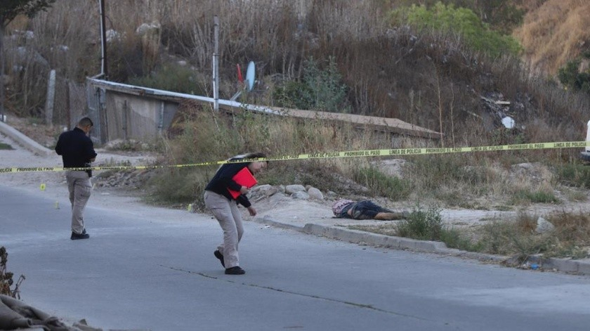Matan a dos y hieren a uno más en media hora en Tijuana(Segio Ortíz)