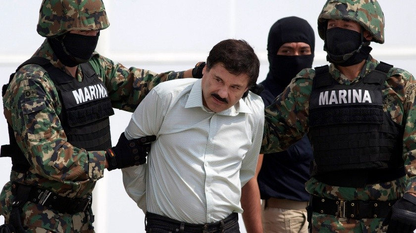 """Joaquin """"El Chapo"""" Guzmán.(Copyright 2019 The Associated Press. All rights reserved., AP)"""
